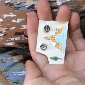 Monet Jewelry - MONET Silver Daisy Flower Stud Earrings